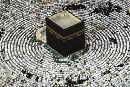 Muslims-praying-Mecca