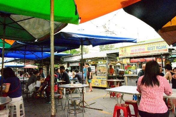 Герни Драйв центр, Пенанг. Фото:  Ли Ин/Великая Эпоха