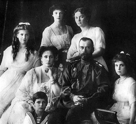 Царская семья. Фото: Чръный человек/wikipedia.org/ public domain