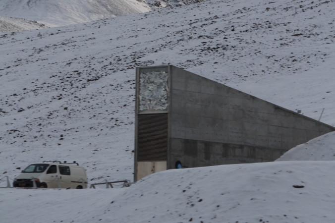 Всемирное семенохранилище на Щпицбергене. Фото: Bjoertvedt/wikipedia.org/CC BY-SA 3.0