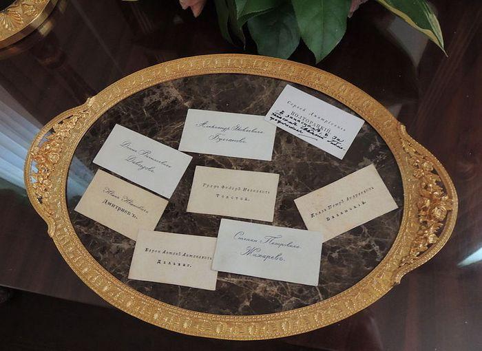 Визитки пушкинских времён. Фото: Shakko/commons.wikimedia.org/CC BY-SA 4.0