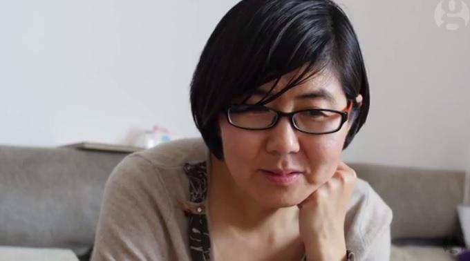 За свою правозащитную деятельность Ван Юй подверглась арестам, угрозам и очернению в государственных СМИ. Её арестовали 9 июля этого года. Фото: Скриншот/YouTube