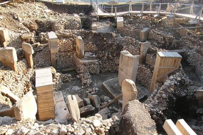 Археологические раскопки в Гёбекли Тепе, Турция. Фото: Wikimedia Commons