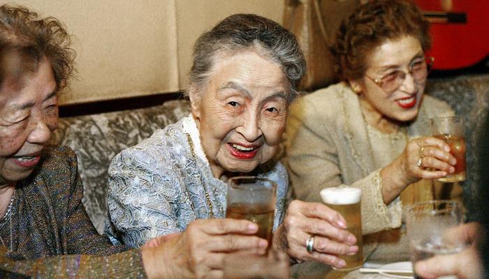 В Японии рекордное число людей 100-летнего возраста