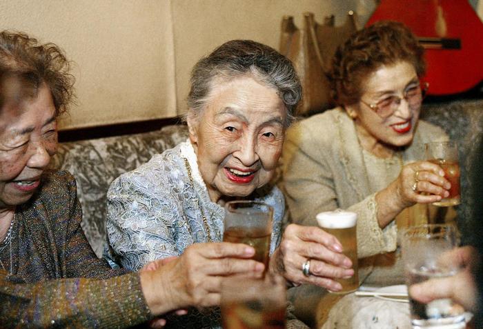 Япония, долгожители