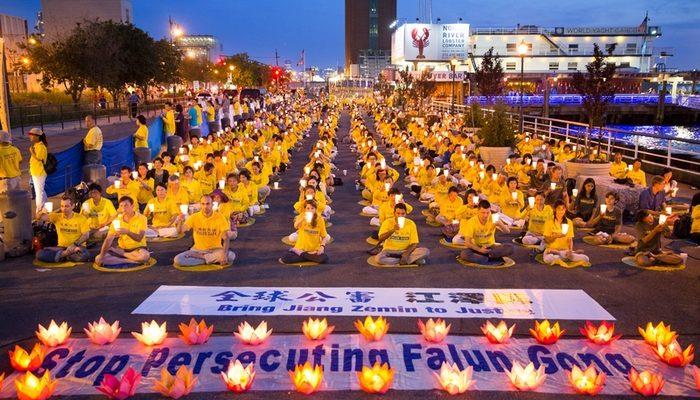 В этом году в Пекине арестовали более 350 сторонников Фалуньгун