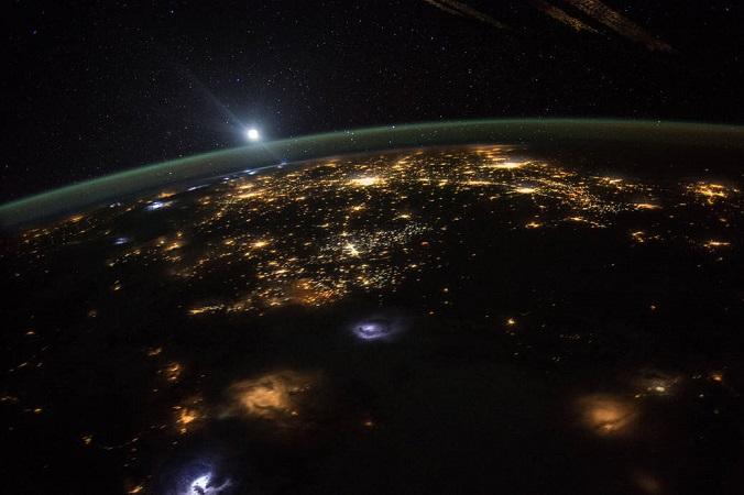 Вид на Землю с орбиты. Фото: nasa.gov