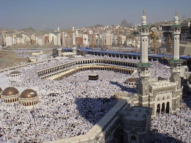 Мечеть аль-Харам и Мекка в XX веке