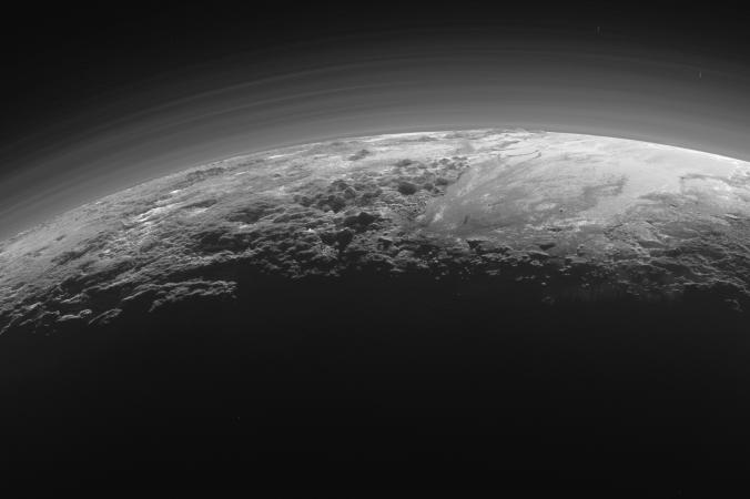 Поверхность Плутона. Лучший кадр.Фото: NASA/JHUAPL/SwRI)