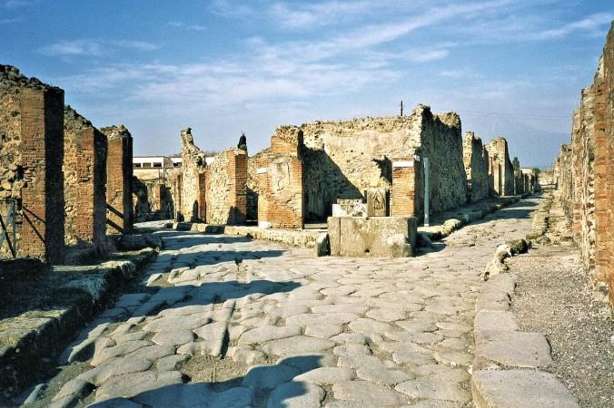 Древние развалины Помпей. Фото: pixabay.com/ CC0 Public Domain