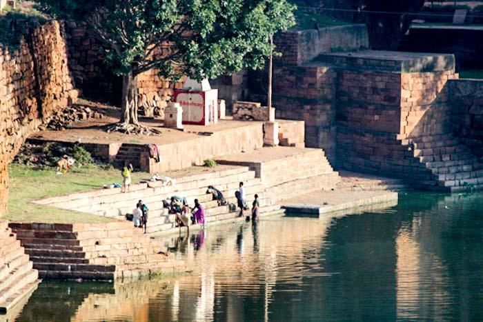 Индия. Жители древнего города Бадами