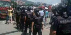 На юге Китая протестуют тысячи водителей контейнеровозов