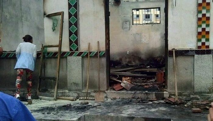 В Китае живьём сожгли хозяина дома во время насильственного сноса
