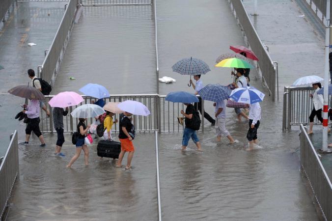 Тайфун Гони, Приморье, тайфун Этау
