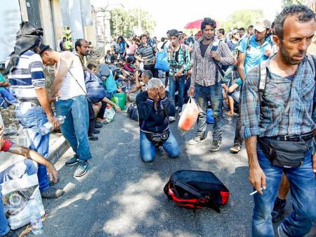 Сирийские беженцы. Фото: Freedom House/flickr.com/Public domain