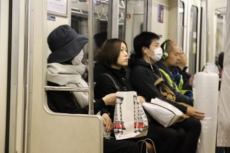 Метро Токио, супер лекарство от гриппа