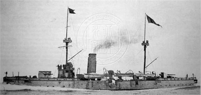 Крейсер типа «Чжиюань». Фото: Дмитрий Никитин/wikipedia.org/Общественное достояние