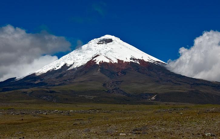 Вулкан Котопахи. Фото: Gerard Prins/wikipedia.org/CC BY-SA 3.0
