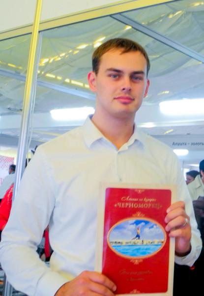 Александр Перепадин, специалист отдела по туризму, г. Бахчисарай. Фото: Алла Лавриненко/Великая Эпоха