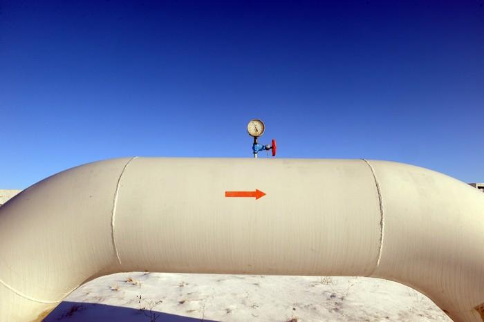 газопровод, российский газ