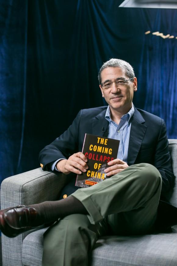 Гордон Чан, автор книги «Грядущий крах Китая», Нью-Йорк, 30 сентября 2015 года. Фото: Benjamin Chasteen/Epoch Times