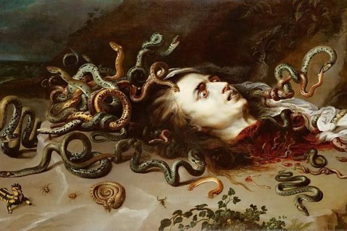 «Голова Медузы». Картина Питера Пауля Рубенса. Фото: Wikimedia Commons
