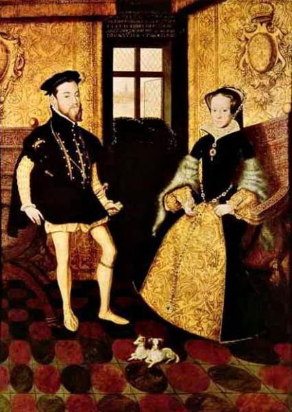 Ганс Эворт. Портрет Филиппа и Марии