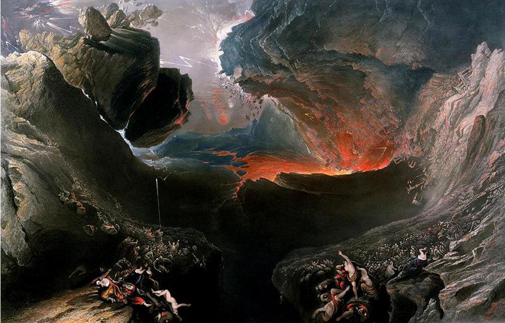 «Конец света». Картина Джона Мартина. Фото: Public Domain