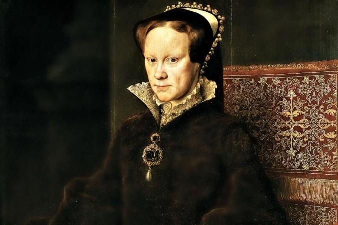 Деталь портрета Марии Тюдор кисти Антонио Моро. Музей Прадо, Мадрид, Испания. Фото: Wikimedia Commons