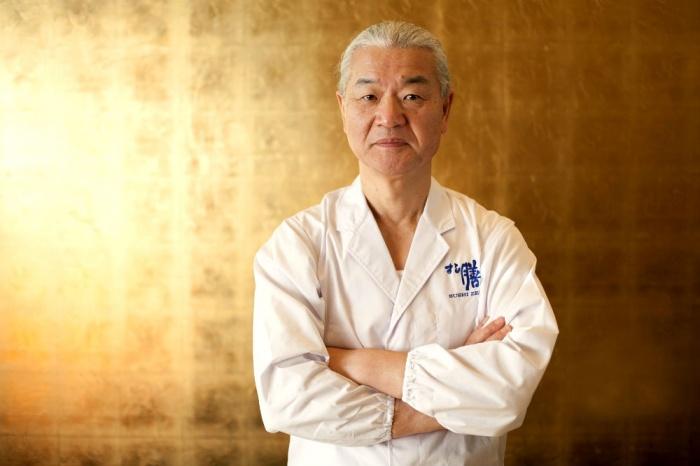 Тосио Судзуки, владелец и шеф-повар ресторана Sushi Zen. Фото: Samira Bouaou/Epoch Times