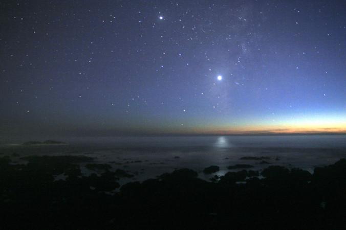 Венера хорошо видна на ночном небе. Фото: BillC/wikipedia.org/CC BY-SA 3.0