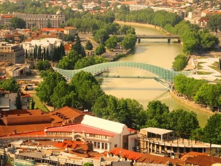 Вид на Тбилиси. Фото: maxbenidze/pixabay.com/CC0 0.1
