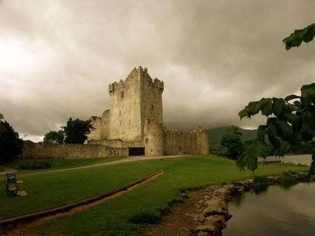 Замок Росс в Ирландии. Фото: schaerfsystem/pixabay.com/CC0 Public Domain