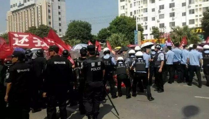 В Китае полиция жестоко пресекла протесты сотен жителей рыбацкой деревни