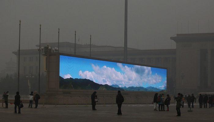 Загрязнение воздуха в китайских городах в 10 раз превышает норму