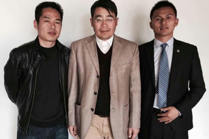 Ван Лундэ, Ван Лицян, Мао Сяомин и пять других адвокатов в феврале заявили о выходе из  Всекитайской ассоциации адвокатов. Фото: Radio Free Asia