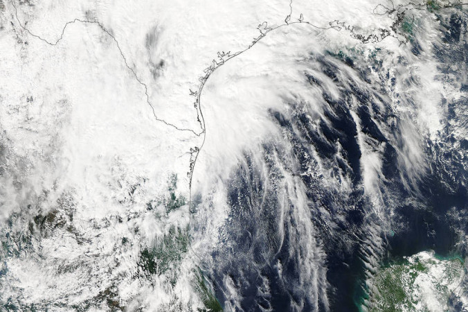 Ураган «Патрисия». Фото: NASA