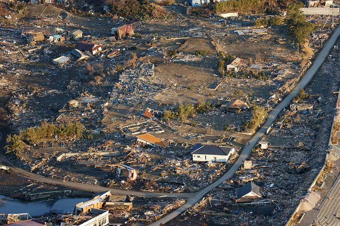 Во время землетрясения и цунами в Японии погибло 1400 человек и пропало без вести около 10 тысяч. Фото: en.wikipedia/Public Domain