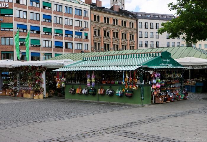 Рынок в Мюнхене.