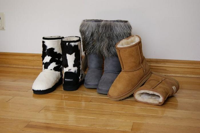 угги, обувь