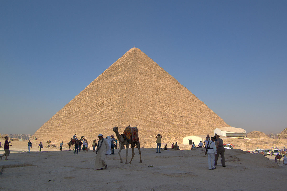 Пирамида Хеопса. Фото: Berthold Werner/wikipedia.org/CC BY-SA 3.0