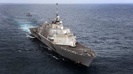 Корабль ВМФ США. Фото: BotMultichillT/wikipedia.org/ public domain
