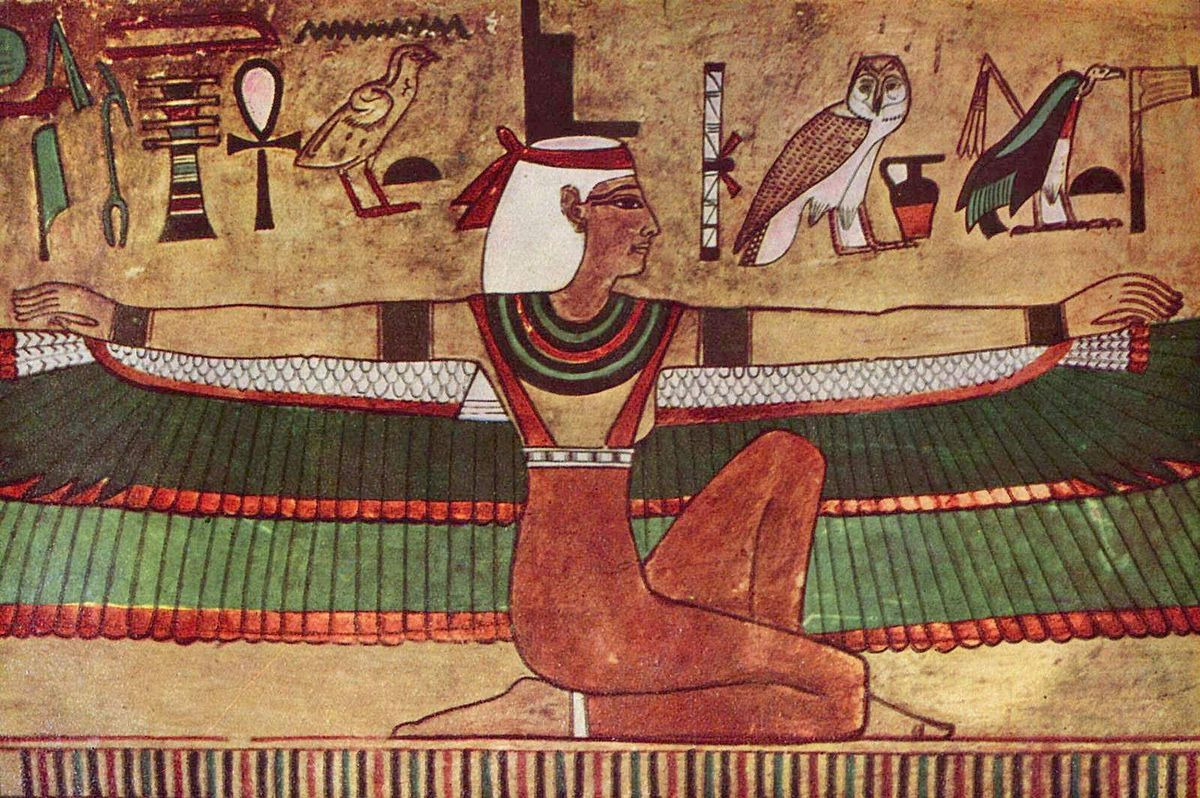 Богиня Изида, являющаяся символом египетского идеала женственности и материнства. Фото: Фото: File Upload Bot/wikipedia.org/public domain