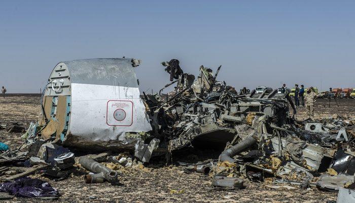 Бомба в самолёте А321 могла находиться под пассажирским сиденьем