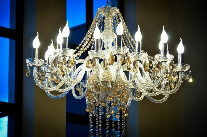 люстра, лампа, освещение