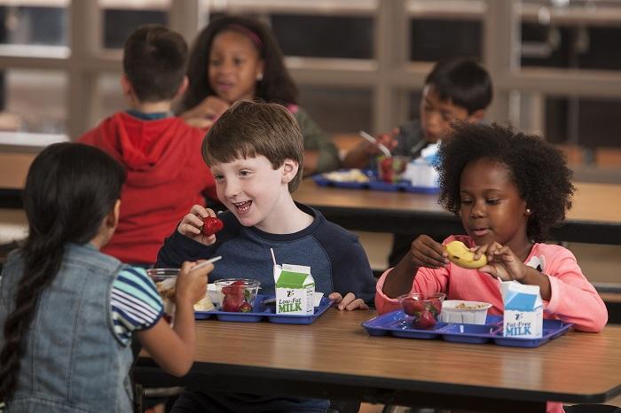дети завтрак