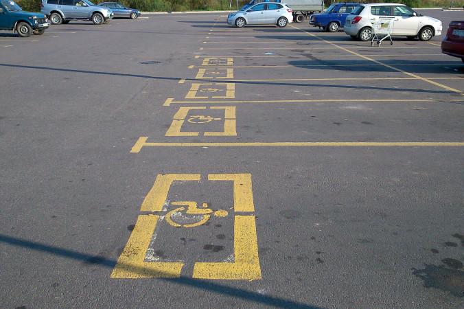 Парковка для инвалидов. Фото: Alexey Ivanov/flickr.com/CC BY-SA 2.0