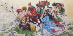 Как восемь святых покарали тирана Лао Цая