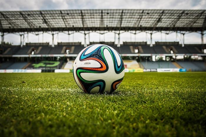 футбол, мяч, поле