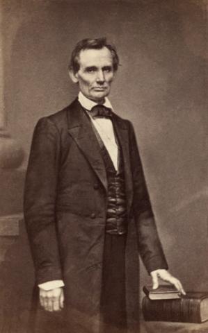 Кандидат в президенты Авраам Линкольн, 1860 год. Фото: Scewing/wikipedia.org/public domain